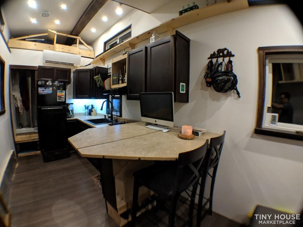 Off-Grid 32' Tiny House On Wheels For Sale - Slide 4