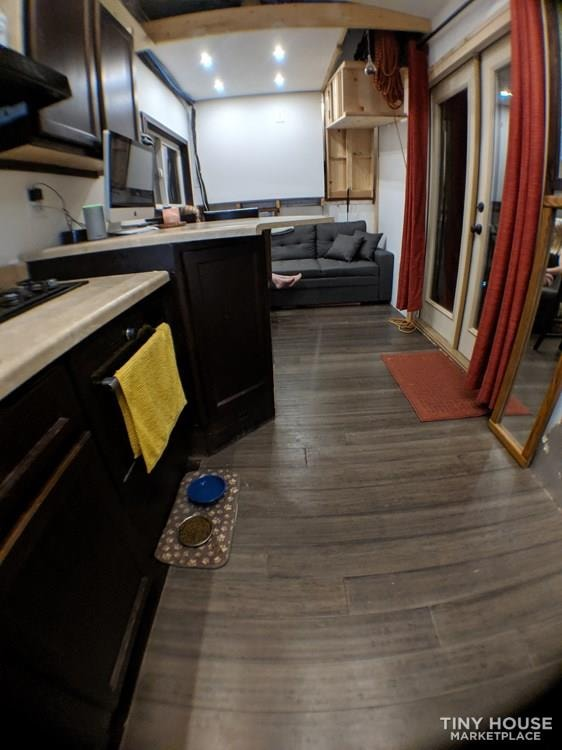 Off-Grid 32' Tiny House On Wheels For Sale - Slide 5