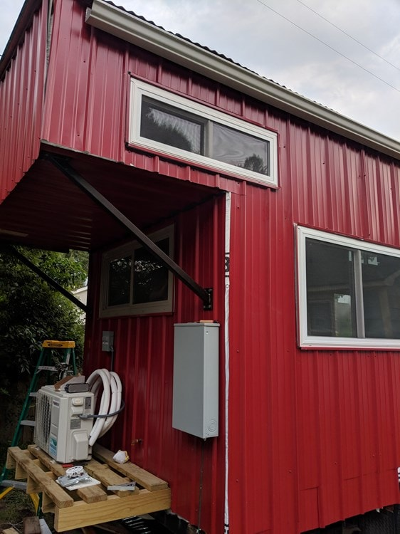 Reduced price, Must Sell ASAP! 8.5x27 Modern Dual Loft Tiny House on Trailer - Slide 9