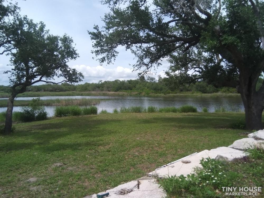 Rockport, TX Tiny Home Great Water Views near Copano Bay - Slide 1