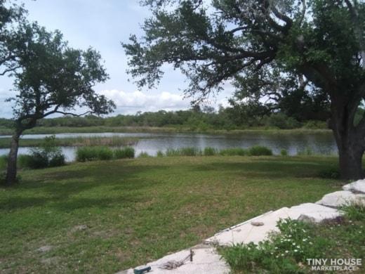 Rockport, TX Tiny Home Great Water Views near Copano Bay