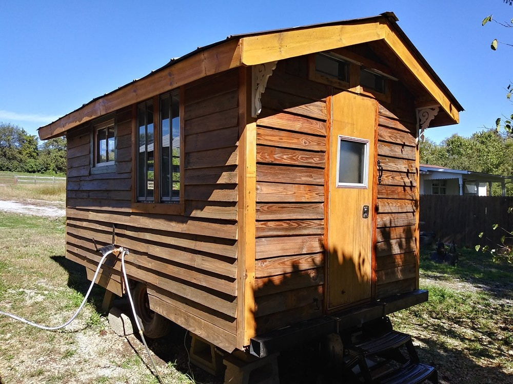 Ole' Smokey Rustic Tiny Home House/Studio - Slide 1