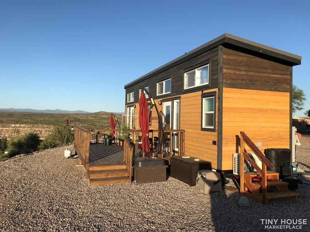 RVIA Certified Tiny House 34' Custom Mint Tiny Home for sale in Arizona - Slide 2
