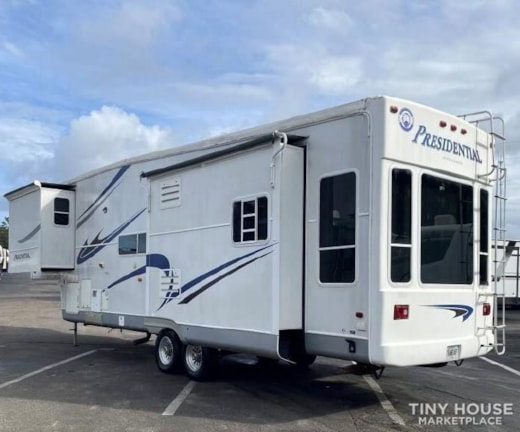 Sold Sneak peek 36ft tiny home beautifully renovated can be delivered