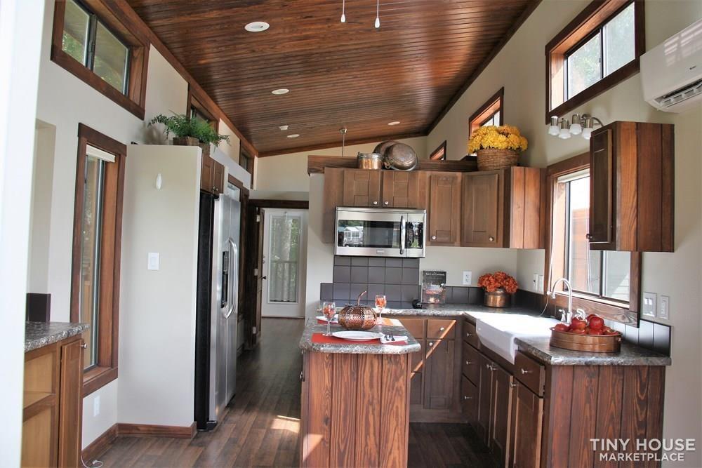 Stunning Rustic Park Model Home w/Carport and Storage at Vintage Grace Texas - Slide 2