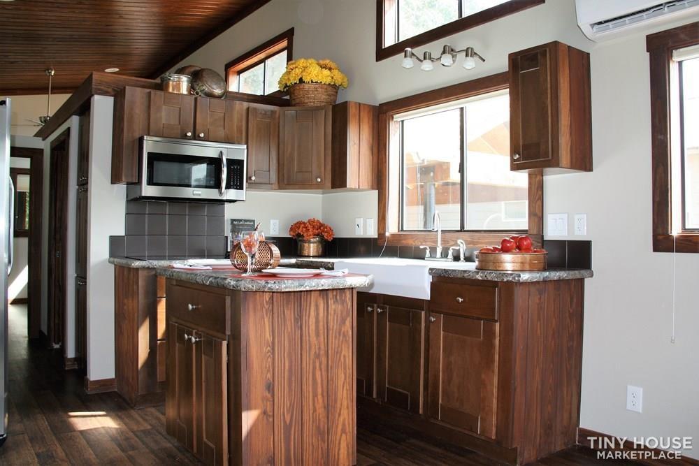 Stunning Rustic Park Model Home w/Carport and Storage at Vintage Grace Texas - Slide 3