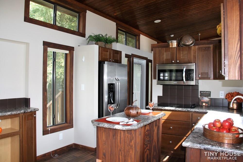 Stunning Rustic Park Model Home w/Carport and Storage at Vintage Grace Texas - Slide 4