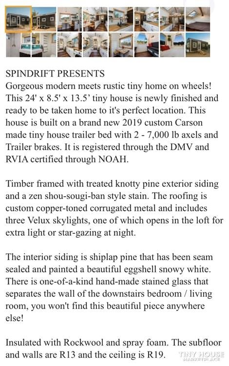 Super Cute New Cottage Tiny Home - Slide 11