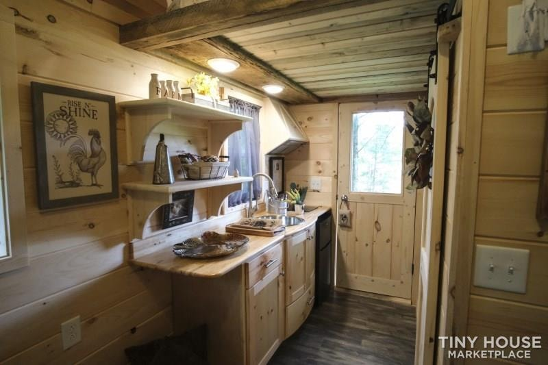 The Best Little Hen House in Tennessee is an 8′ x 16′ Freedom Style Tiny Home - Slide 3