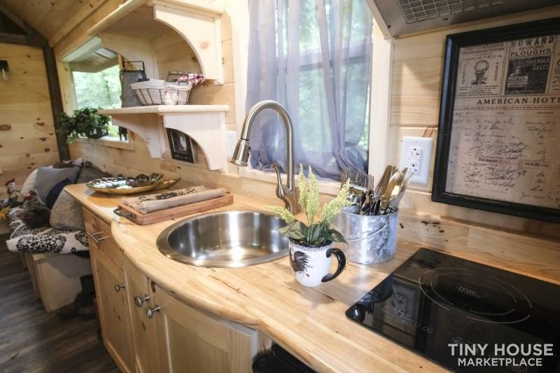 The Best Little Hen House in Tennessee is an 8′ x 16′ Freedom Style Tiny Home - Slide 5
