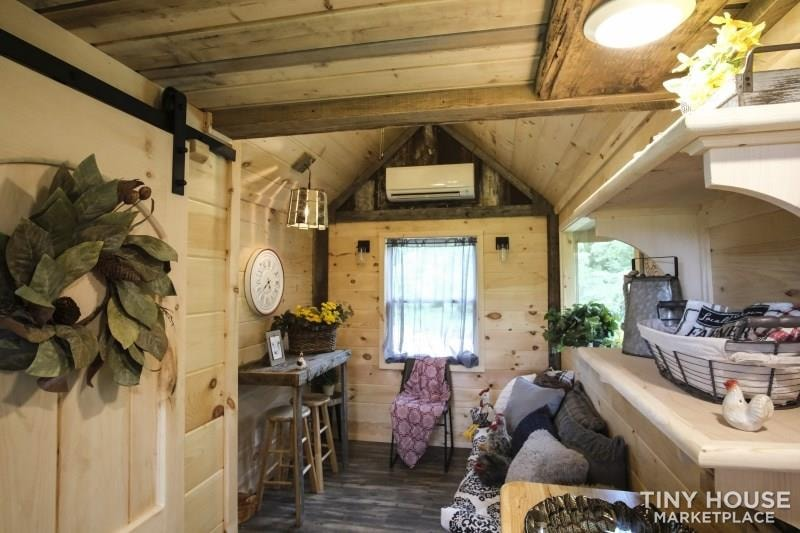 The Best Little Hen House in Tennessee is an 8′ x 16′ Freedom Style Tiny Home - Slide 6