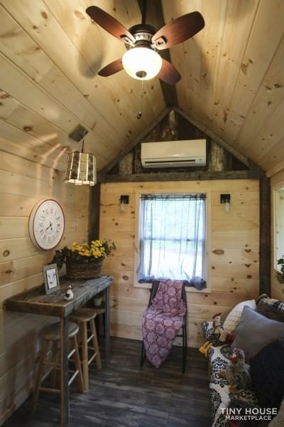 The Best Little Hen House in Tennessee is an 8′ x 16′ Freedom Style Tiny Home - Slide 7