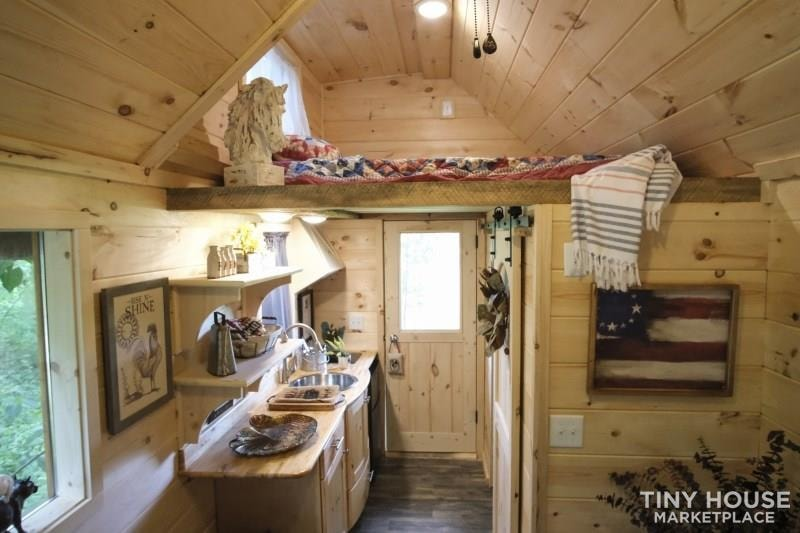 The Best Little Hen House in Tennessee is an 8′ x 16′ Freedom Style Tiny Home - Slide 8