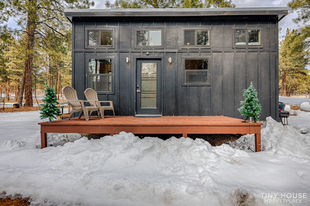The Nomad Tiny Home Awaits You! - Slide 1