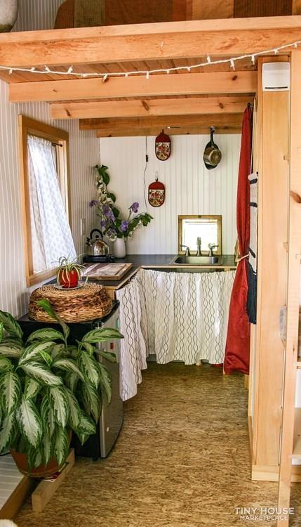 Cedar Shake Tiny House for Sale - Slide 4