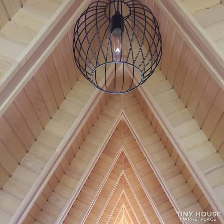 Tiny House For Sale Wood A Frame House - Slide 3