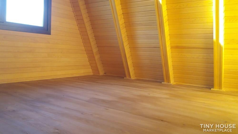 Tiny House For Sale Wood A Frame House - Slide 5