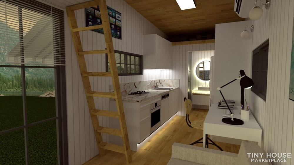 Tiny House on Wheels For Sale Luxury and Modern Design Financing Available - Slide 8