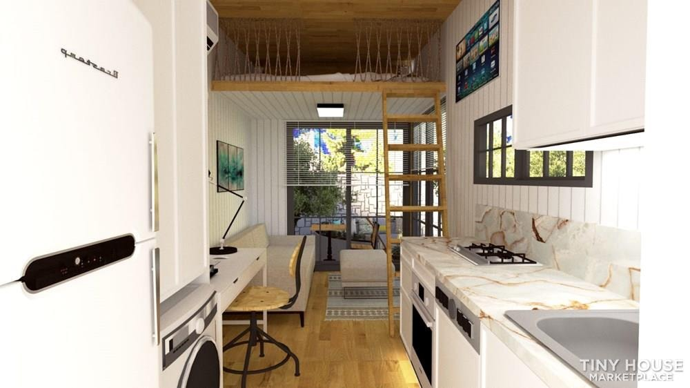 Tiny House on Wheels For Sale Luxury and Modern Design Financing Available - Slide 9