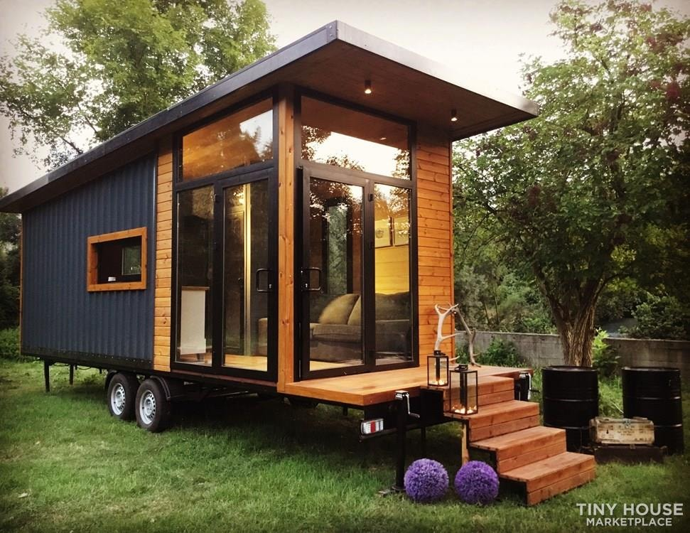 Tiny House on Wheels For Sale Luxury and Modern Design Financing Available - Slide 1