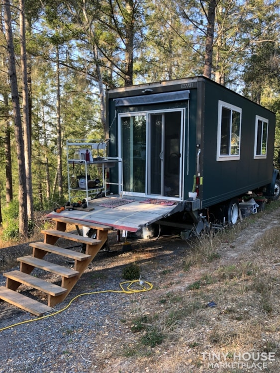 TINY HOUSE ON WHEELS FOR SALE - BOX TRUCK CONVERSION - Slide 3