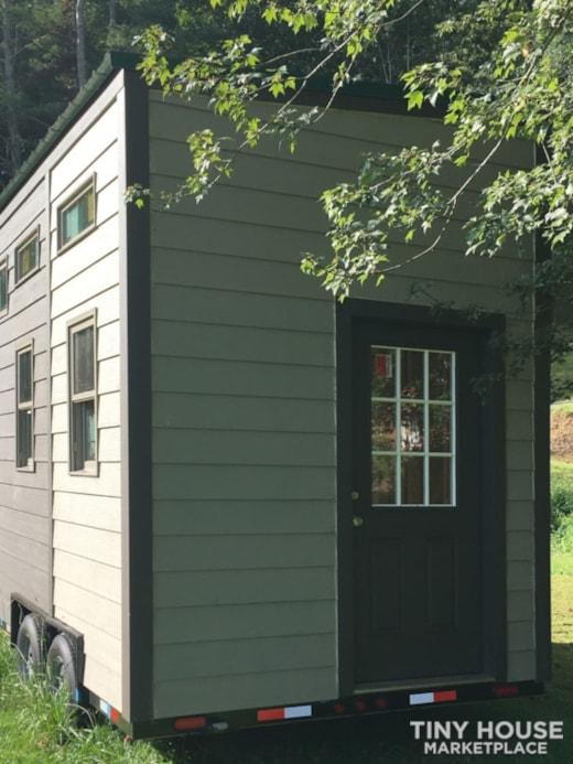 Tiny House Shell on Trailer 8x16 plus storage (aka doghouse)