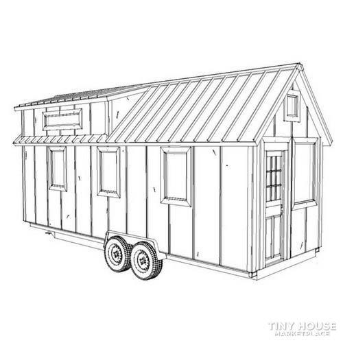 Tiny House Steel Frame Kit