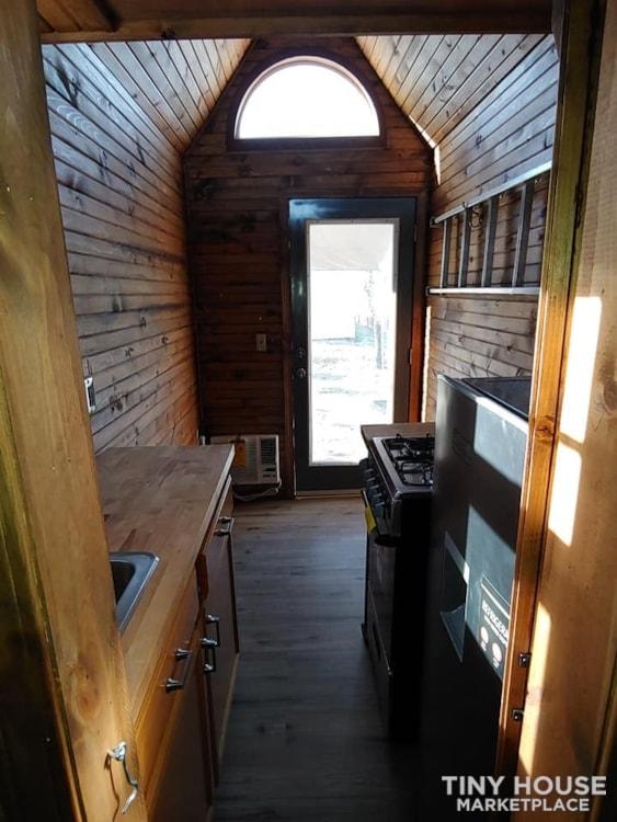 Custom Tiny house on Trailer with loft, Flush toilet, & Awning for Outdoor Life - Slide 18