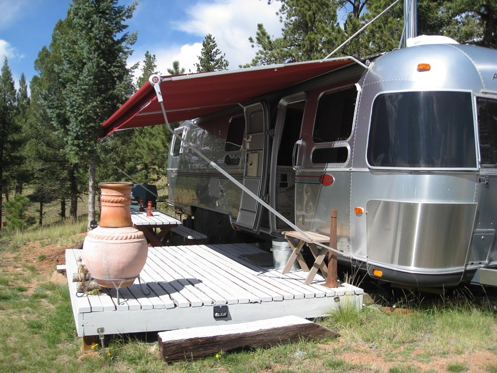 Ultimate flexibility -Converted 34' Classic Airstream Tiny House  - Slide 1
