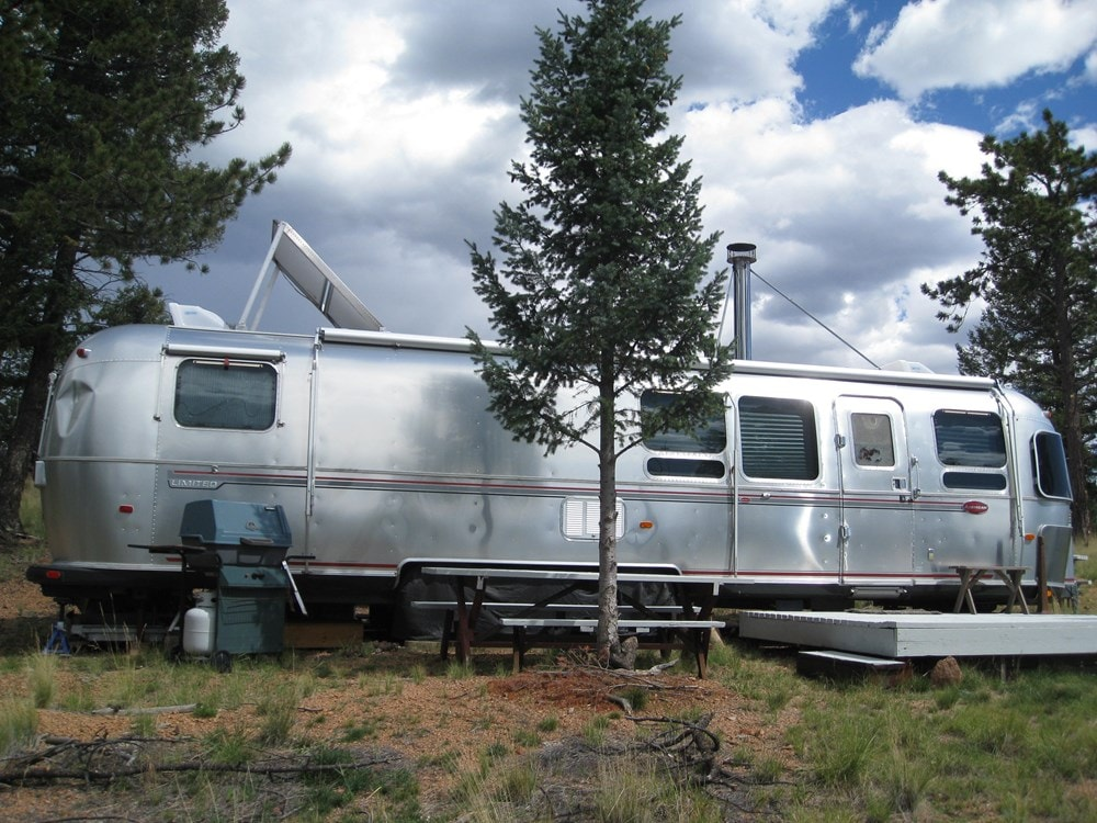 Ultimate flexibility -Converted 34' Classic Airstream Tiny House  - Slide 3