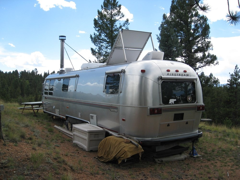 Ultimate flexibility -Converted 34' Classic Airstream Tiny House  - Slide 4