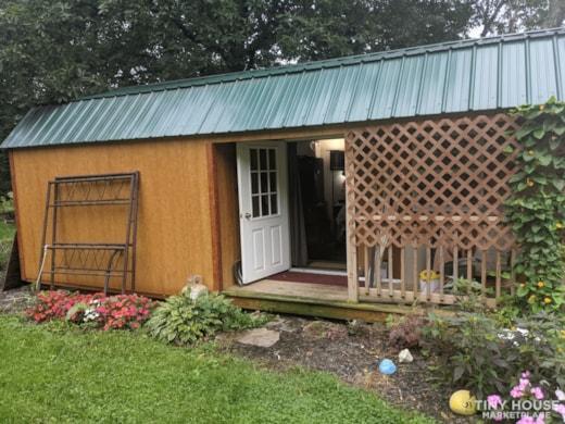 Unfinished Tiny House Near Binghamton New York