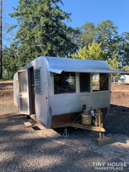 Vintage Boles Aero Tiny Home on Wheels