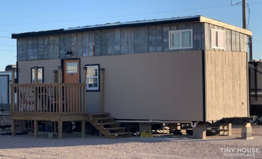 Western 10x30 Tiny House on Wheels for sale
