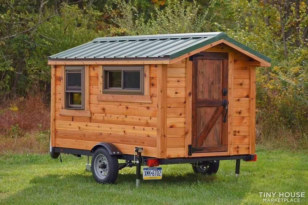 Wildbound 5' x 8' Tiny Travel Cabin - Slide 2
