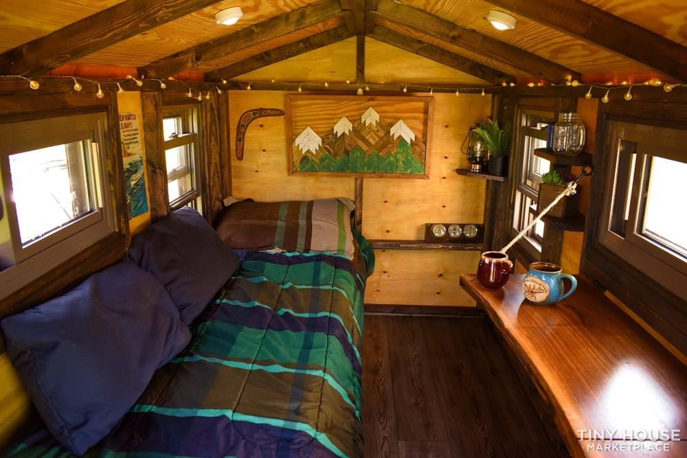 Wildbound 5' x 8' Tiny Travel Cabin - Slide 4