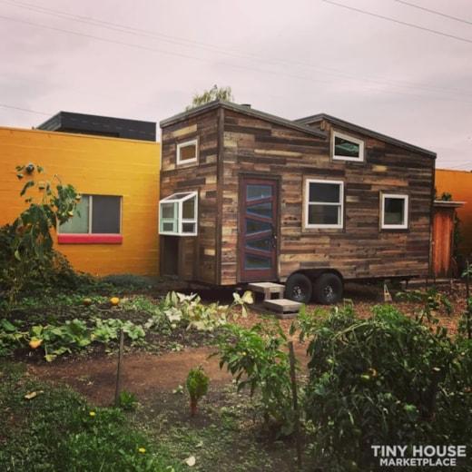 Zig Zag Tiny House - Custom-designed, craftsman-built tiny house - Now For Sale